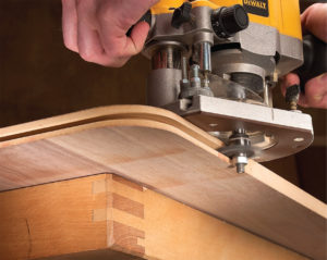 How To Round Wood Edges Without With A Router Wood Routers